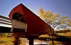 1. Visit all of the beautiful, historic Bridges of Madison County. Onlyinyourstate.com I love it!