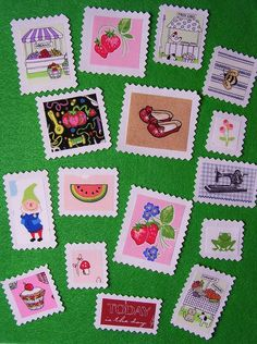 A little stamp making!