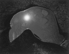 "Paul Caponigro: ""Tide Pool and Sun, Massachusetts""."