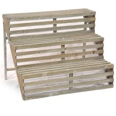 Easy Peasy stair tread and lumber DIY project. Retail Display  Like the Go Home double purpose table also