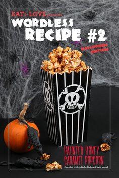 Halloween Recipes : Haunted Honey Caramel Popcorn