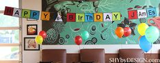 science birthday party ideas | this month, my nephew celebrated his 6th birthday Mad Scientist ...