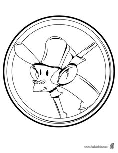 Sir monkey coloring page. Find your favorite coloring page on Hellokids! We have selected the most popular coloring pages, like Sir monkey coloring page . Monkey Coloring Pages, Animal Coloring Pages, Coloring Sheets, Jungle Animals, Wild Animals, Printable Coloring Pages, Colouring Sheets, Coloring Pages, Wild Ones