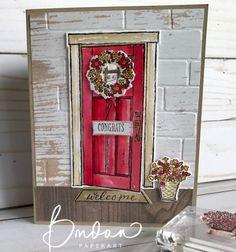 Shut the Door...details @http://ramblingrosestudio.com/shut-the-door/