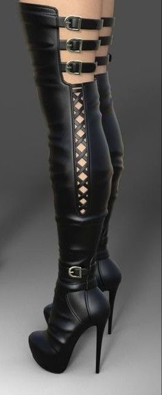Cuissardes Femmes Cuisse Haute Stretch Halloween Chaussettes Lycra Noir Crânes et B