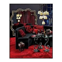 French Boudoir Bedroom Ideas | french Boudoir Bedrooms - Moulin Rouge french ooh la la bedroom decora ...