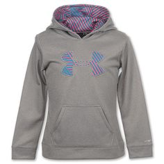 Under Armour Big Logo Girl's Hoodie