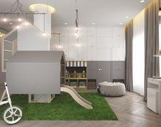 Habitación de juegos inspirada en la cabaña del árbol   DecoPeques