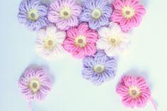 Puff Flower Free pattern
