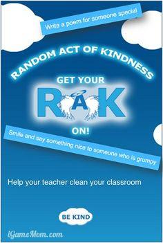 Random Act of Kindness App