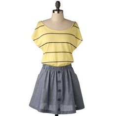 Ms. Peanut Dress-Mod Retro Indie Clothing & Vintage Clothes