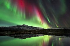 I will get a picture of the lights when I am in Alaska. New Goal... besides meet Sarah Palin...Norway Aurora Borealis -- incredible!!
