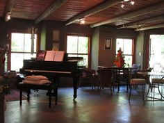Music room at High Hopes