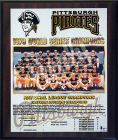 The Pittsburgh Pirates Won a World Series title in the years and 1979 World Series, World Series Winners, Pittsburgh Pirates Baseball, Pittsburgh Sports, Baseball Classic, Willie Mays, National League, Champion, Stylish Clothes
