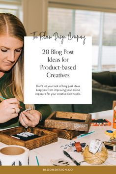 20 Blog Post Ideas for Product-based Creatives | The Bloom Design Company Instagram Marketing Tips, Creative Business, Search Engine, Gift Guide, Improve Yourself, Bloom, Base, Bossbabe, Blogging