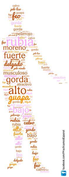 Adjetivos para describir el físico de las personas | Más recursos en www.fb.com/practicamosespanol y www.profedeele.es