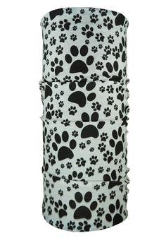 Pawfection - Black & White | Hoo Rag #dogbandanas #rocktherag