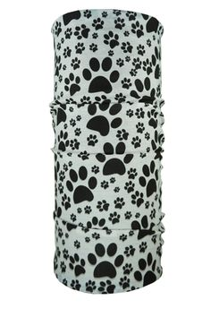 Pawfection - Black & White   Hoo Rag #dogbandanas #rocktherag