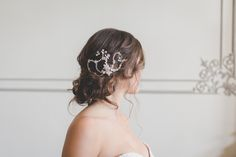 Perfect accessory for a messy updo.
