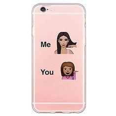iphone 6s plus / 6 plus / iphone 6s / 6 TPU gennemsigtige bagside 2016 - kr.23 Iphone 6 Cases, Iphone 8 Plus, Phone Case, 6s Plus, Apple Iphone, Random, School, Accessories, Cases