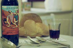 Nada mejor que un poco de vino mientras preparamos la comida. Fotografía de producto para tastu.es