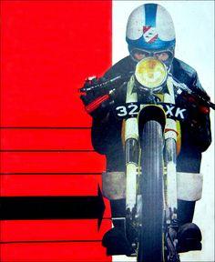 Vintage motorcycle art | Inazuma café racer