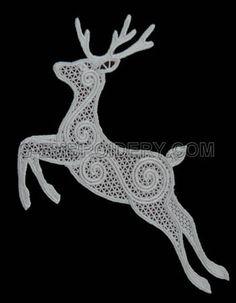 reindeer lacey