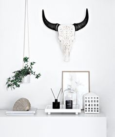 Only Deco Love: Handmade Curved Rustic Art from Skull Bliss