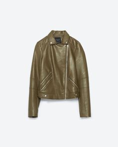 Image 8 of JACKET WITH ZIPS from Zara