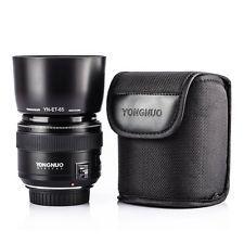 Yongnuo YN85mm F1.8 AF/MF Lentes Para Canon Ef Mount Eos Camera 7DII 5DII 5 Cunha 5DS