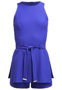 Miss Selfridge Tabbard Mono Blue monos ropa Tabbard Selfridge Mono Blue Miss Noe.Moda
