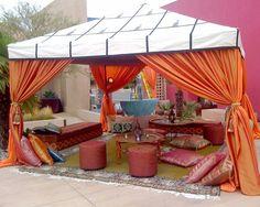 Tendas marroquinas para eventos