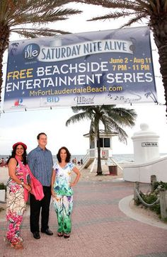"Ramola Motwani, left, Fort Lauderdale Commissioner Romney Rogers and Ina Lee at the City of Fort Lauderdale's ""Saturday Nite Alive"" presented by Isles Casino Racing Pompano Park. The event, which features live entertainment, shopping and restaurants, takes place on Fort Lauderdale Beach every Saturday from 7 to 11 p.m. through August 11. For more information, visit www.MyFortLauderdaleBeach.com. To see more photos from Society Scene's Broward edition, visit www.Facebook.com/SocietyScene."
