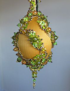 Fine 1000 Images About Bead Amp Sequin Ornaments On Pinterest Beaded Easy Diy Christmas Decorations Tissureus