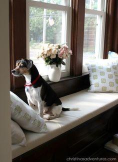 Window Seats! | #Home #decor ideas!