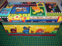 caixa infantil em tecido