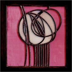 Charles Rennie Mackintosh Stained Glass Design