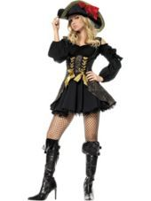 Adult Pirate Vixen Costume-Womens Costumes-Sale Costumes-Halloween Costumes-Party City