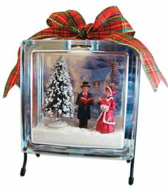 Night before Christmas Victorian Scene Create a picaresque Christmas Eve scene to decorate your home for the holidays with KraftyBlok™. Christmas Glass Blocks, Christmas Projects, Holiday Crafts, Christmas Ideas, Christmas Wood, Christmas Signs, Christmas Inspiration, Christmas Ornament, Holiday Ideas