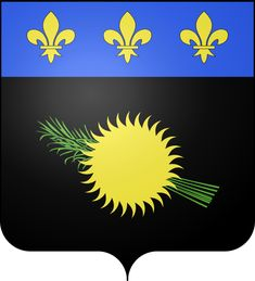 Coat of arms of Guadeloupe.svg. On Basse-Terre, Parc National de la Guadeloupe encompasses hiking trails, 3-tiered Carbet Falls and active volcano La Grand Soufrière. Smaller islands include Marie-Galante and La Désirade. Capital: Basse-Terre