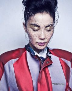 Faye Wong by Chen Man for Harper's Bazaar China October 2012
