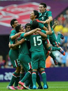 Olympic gold for MEXICO soccer team!