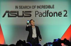 Johnny Shih, evento lancio Asus Padfone 2