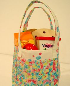 Mommy and Me DIY Shopping Bag | AllFreeSewing.com