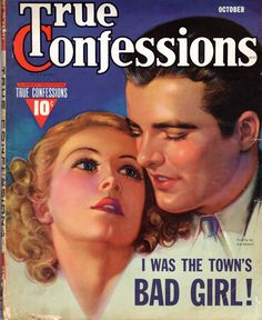Vintage Magazine, True Confessions, October 1939, Good Condition by WaywardWindCrafts on Etsy