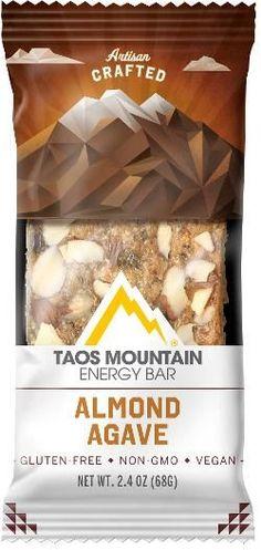 e26884a58 Taos Mountain Energy Bar Energy Bar Almond Agave Golden Brown