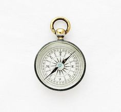 Antique British Compass Pendant / Petit by TheCompassCollector