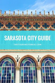 Things to do in Sarasota, Florida. Have the best vacation with the beach, restaurants and attractions including Salvador Dali in St. Sarasota City Guide – The Touring Yorkie. Visit Florida, Sarasota Florida, Florida Vacation, Florida Travel, Vacation Spots, Clearwater Florida, Vacation Ideas, Usa Roadtrip, Canada Travel
