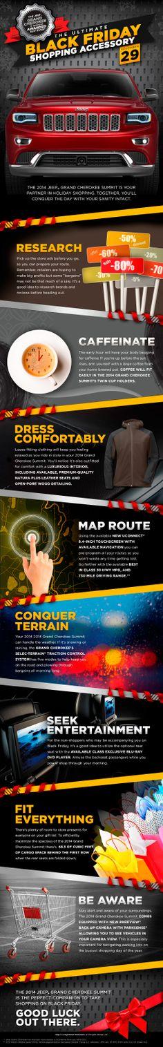 Jeep Grand Cherokee Black Friday Infographic