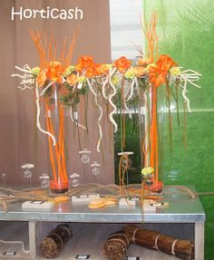 Fleuriste Isabelle Feuvrier: Idées de vitrine sur le thème de l'automne